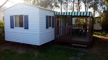 Mobil-home 2 chambres - 4 personnes